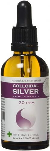 Natures Greatest Secrets Colloidall Silver For Pets 20ppm Dropper Bottle